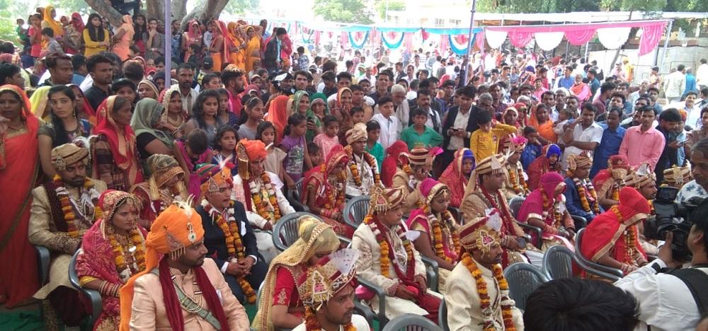 श्री सैन समाज वैवाहिक समिति त्रिवेणी धाम शाहपुरा द्वारा आठवां विवाह सम्मेलन 12 नवम्बर 2019 को संपन्न हुआ।